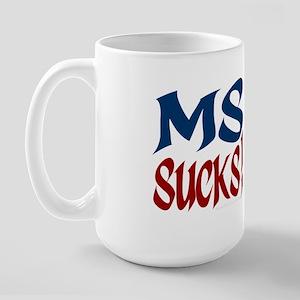 MS Sucks! Large Mug