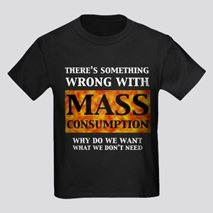 Mass Consumption Kids Dark T-Shirt