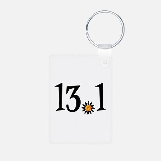 13.1 with orange flower Keychains