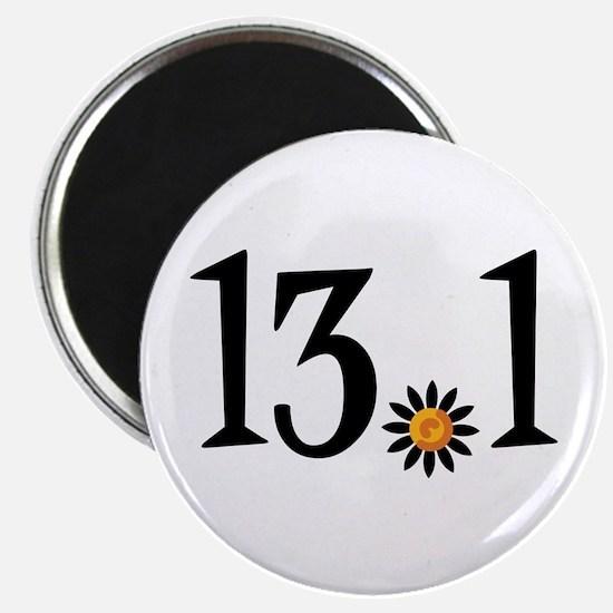 13.1 with orange flower Magnet
