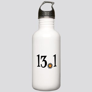 13.1 with orange flower Stainless Water Bottle 1.0