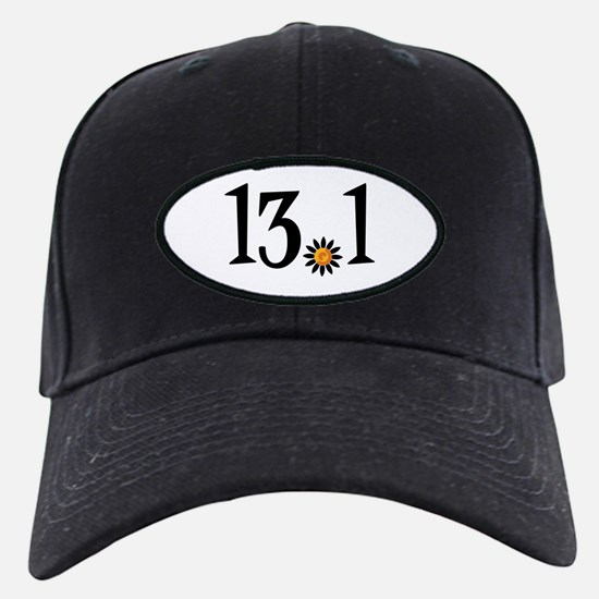 13.1 with orange flower Baseball Hat