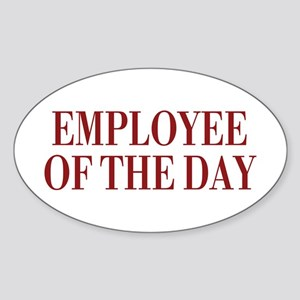 Employee Sticker (Oval 10 pk)