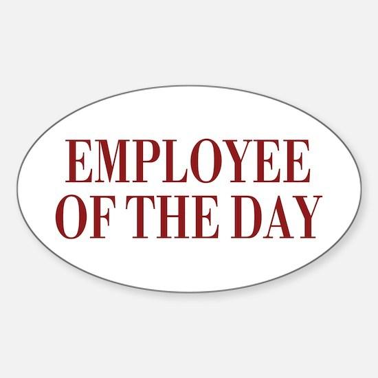 Employee Sticker (Oval 10 pk)