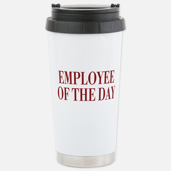 Employee Stainless Steel Travel Mug