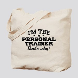 Funny Personal Trainer Tote Bag