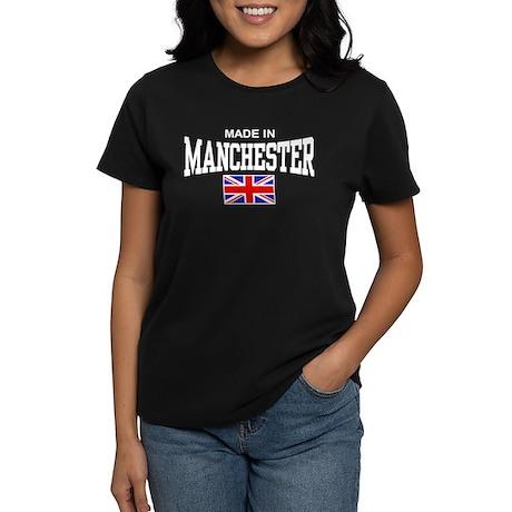 Made In Manchester Women's Dark T-Shirt