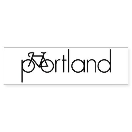 Bike Portland Sticker (Bumper)