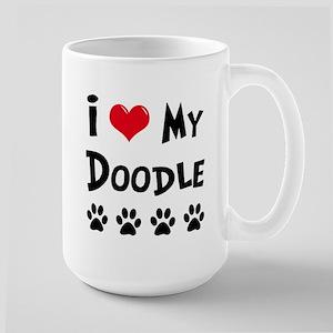 My Dog Rulez! Large Mug