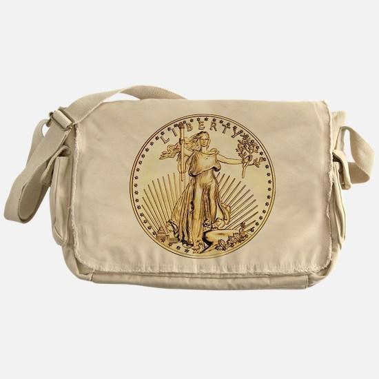 The Liberty Gold Coin Messenger Bag