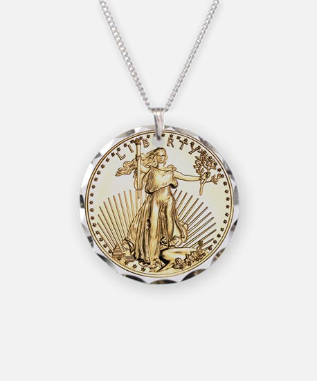 The Liberty Gold Coin Necklace