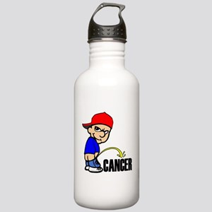 Piss On Cancer -- Cancer Awareness Stainless Water
