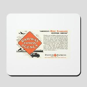 Railway Express Agency 1948 Mousepad
