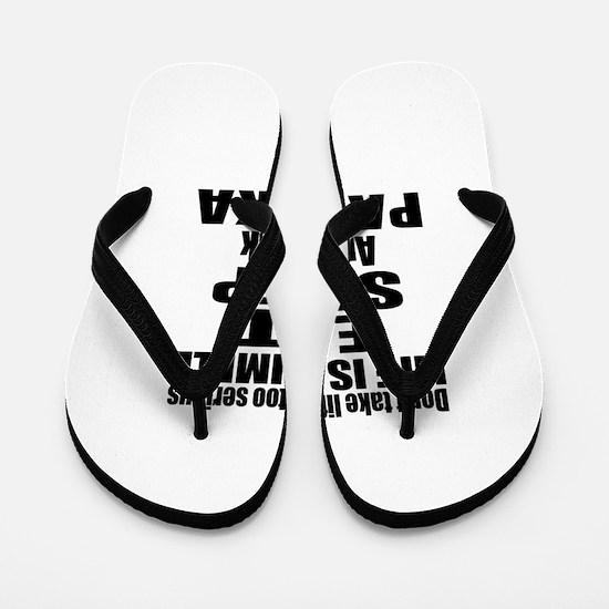 Eat Sleep And Palinka Flip Flops
