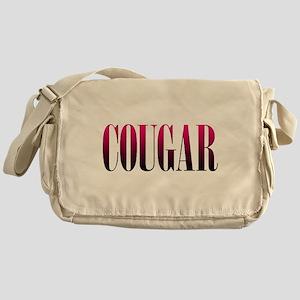 Cougar Canvas Messenger Bag