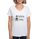 hunting Women's V-Neck T-Shirt