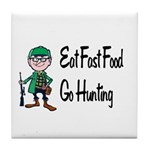 hunting Tile Coaster