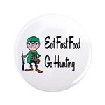 """hunting 3.5"""" Button (100 pack)"""