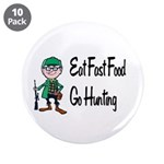 """hunting 3.5"""" Button (10 pack)"""