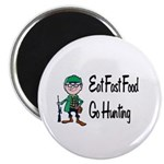 """hunting 2.25"""" Magnet (10 pack)"""