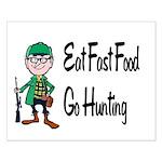 hunting Small Poster