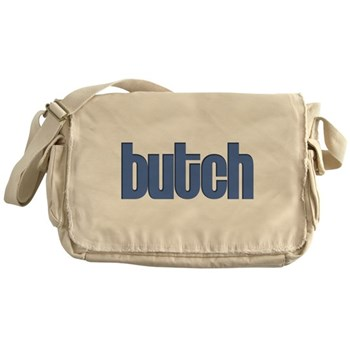 Butch Canvas Messenger Bag