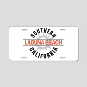 Laguna Beach California Aluminum License Plate
