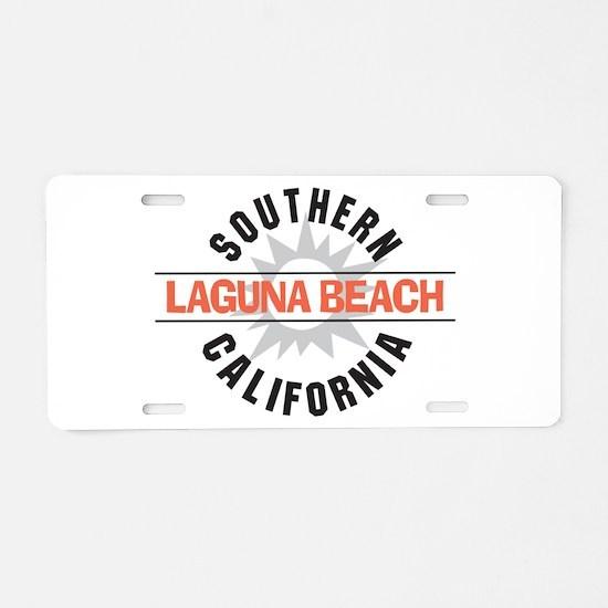 Laguna Beach California Aluminum License Plate
