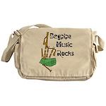 Bagpipe Music Rocks Messenger Bag