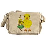 Bagpipe Chick Messenger Bag
