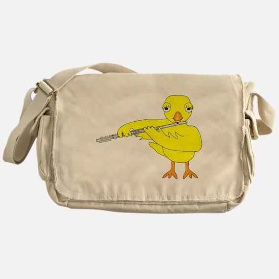 Flute Chick Messenger Bag