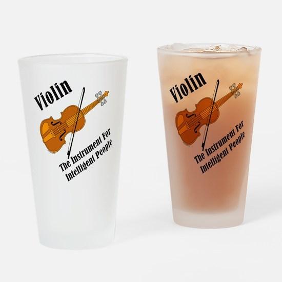 Intelligent Violin Drinking Glass