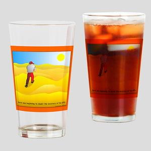 GPS Uncertainty Drinking Glass