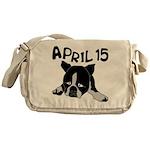 April 15 Messenger Bag