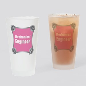 Pink Screw Loose Drinking Glass
