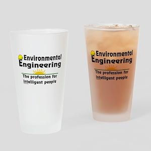 Environmental Genius Drinking Glass