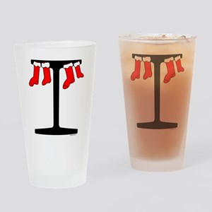 I Beam Stockings Drinking Glass