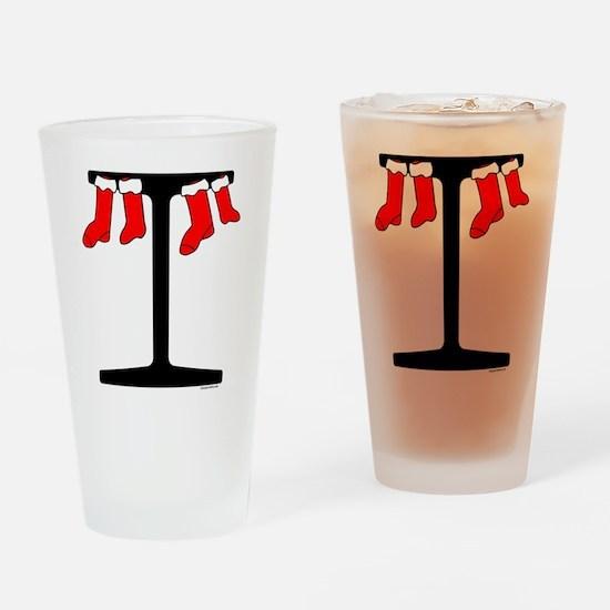I Beam Stockings Drinking Glass