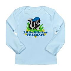 Little Stinker Theodore Long Sleeve Infant T-Shirt