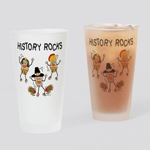 History Rocks Drinking Glass
