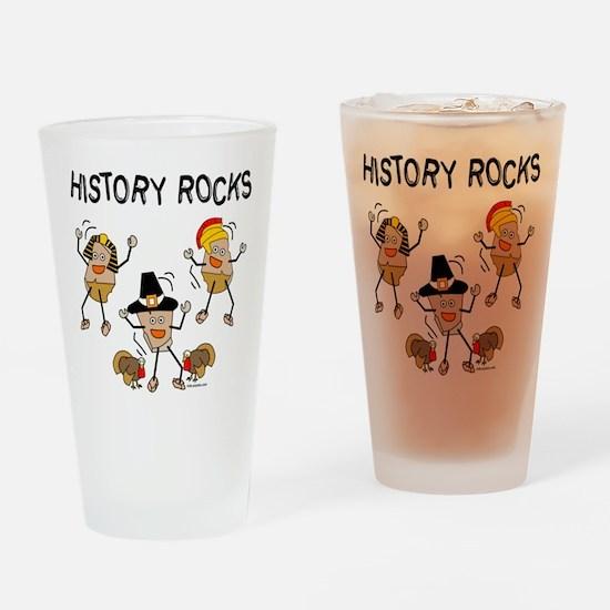 History Rocks Drinking Glass