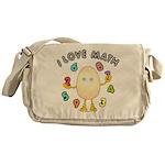 Love Math Messenger Bag