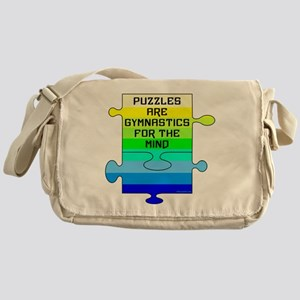 Jigsaw Puzzle Pieces Messenger Bag