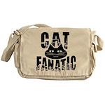Cat Fanatic Messenger Bag