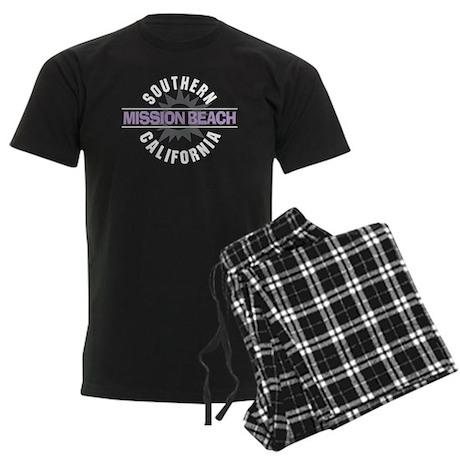 Mission Beach Men's Dark Pajamas