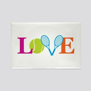 """Love"" Rectangle Magnet"