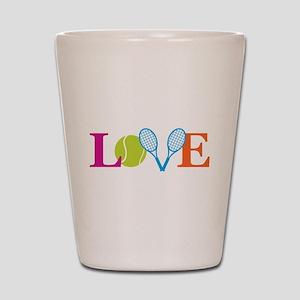 """""""Love"""" Shot Glass"""