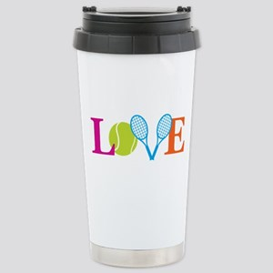 """Love"" Stainless Steel Travel Mug"