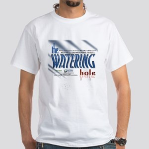 the WATERING hole collector White T-Shirt