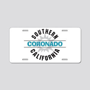 Coronado California Aluminum License Plate